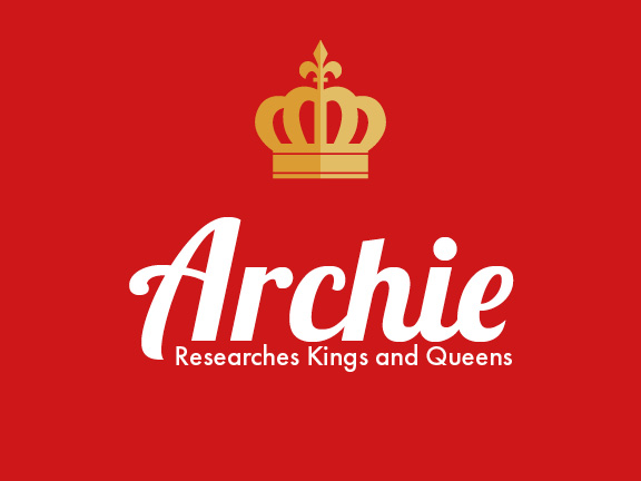 Archie Researches Kings and Queens