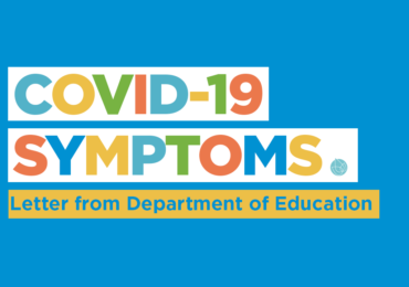 Letter for parents about COVID-19 symptoms